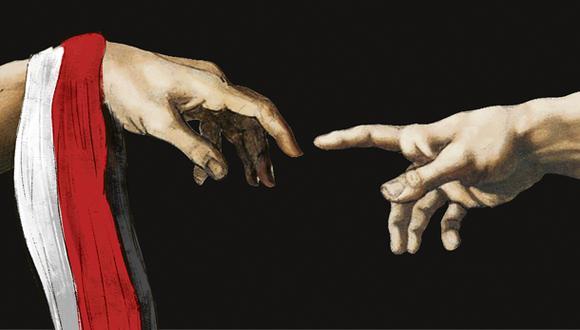 """""""Todavía es posible imaginar una salida intermedia. Requería serenidad y desprendimiento de ambas partes"""". (Ilustración: Giovanni Tazza)"""