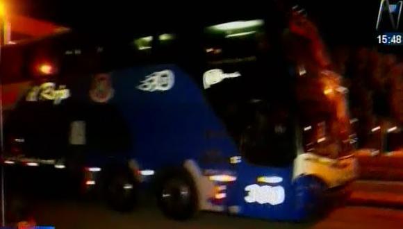 Asaltan a 60 pasajeros de un bus en la Panamericana Norte