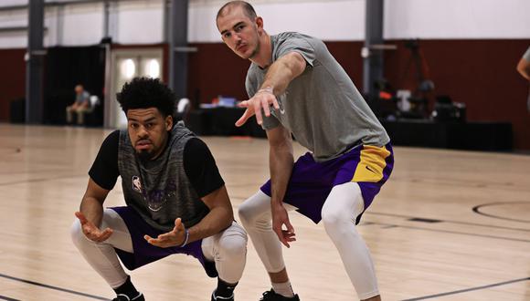 No asistirá a la boda de su hermana: jugador de Lakers priorizó quedarse en 'La Burbuja' de la NBA