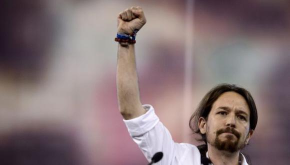 Podemos es la gran sorpresa en las elecciones de España