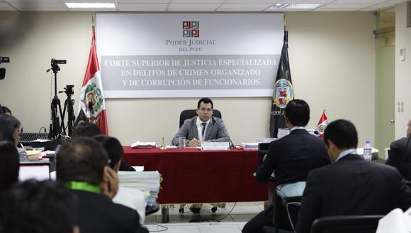 El juez Jorge Chávez Tamariz dispuso que el abogado de Nadine Heredia sustente su defensa el lunes 30 de diciembre. (Foto: Anthony Niño de Guzmán / GEC)