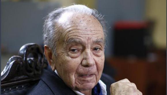 """Pablo Macera cumplió con promover siempre el debate, """"queriendo ser desmentido"""". Ese fue acaso otro de sus grandes aportes al país. (Foto:GEC)"""