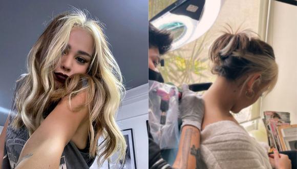 Danna Paola sorprendió a seguidores con nuevos tatuajes. (Foto: @dannapaola)