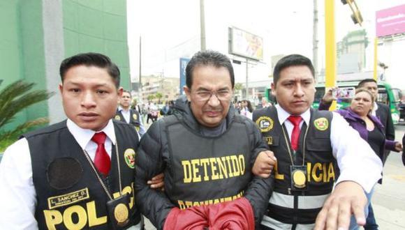 El abogado Weyden García Rojas fue capturado en noviembre del 2019. (Foto: GEC)