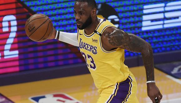 Lakers vs. Suns tuvieron su primer partido de la serie de primera ronda de los PlayOffs de la NBA. FOTO: AFP