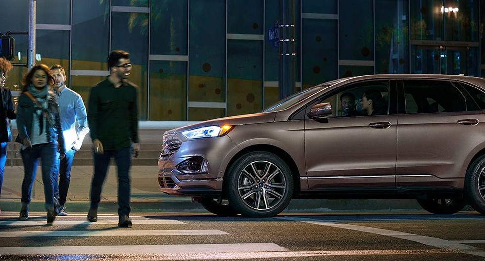 Asistente de precolisión: activa los frenos ante la cercanía accidental de vehículos o peatones y ayuda a reducir daños ante una posible colisión. (Foto: Ford)
