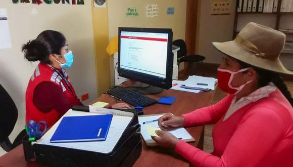Midis: los Tambos de la regiones de Áncash, Apurímac y Junín han recibido más consultas acerca del subsidio económico. (Foto: Midis)