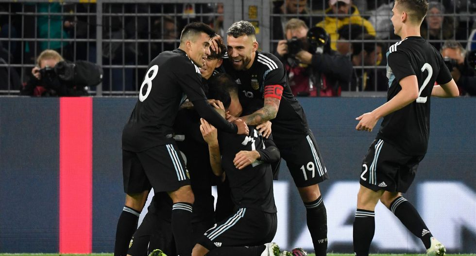 Argentina se recuperó de un 2-0 y terminó igualando ante Alemania, en amistoso disputado en Dortmund por la fecha FIFA. (Foto: AFP)