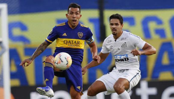 Boca vs. Santos: ¿cómo se definirá hoy al segundo finalista de la Copa Libertadores? (Foto: AP)