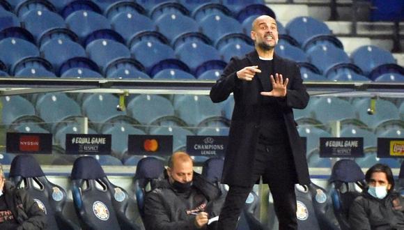 Guardiola descartó reforzar el Manchester City para la próxima temporada. (Foto: AFP)