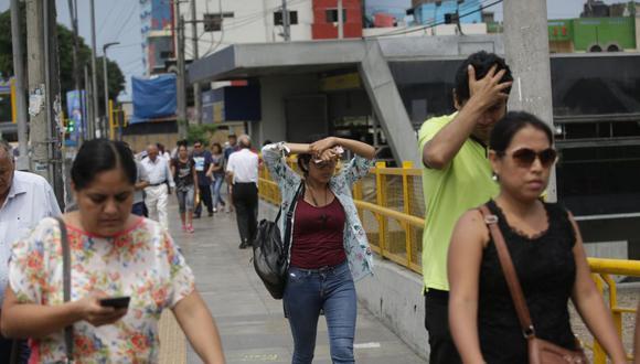 El índice máximo UV en Lima alcanzará el nivel 15 este domingo, advirtió el Senamhi. (Foto: GEC)