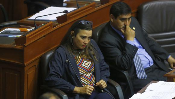 Karla Schaefer admitió que no hay un consenso en Fuerza Popular sobre el retorno a la bicameralidad. (Foto: Archivo El Comercio)