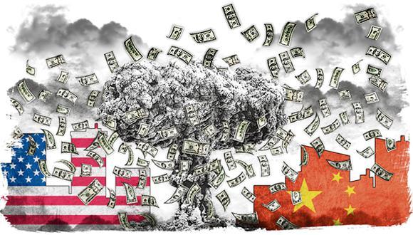 """""""No está claro cómo terminará esta guerra tecnológica"""". (Ilustración: Rolando Pinillos)"""
