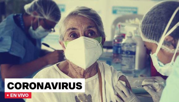 Últimas noticias de coronavirus en Perú, vacunación, cronograma, cifras del Minsa y más del domingo 25 de julio. FOTO: Diseño El Comercio