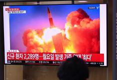"""Corea del Norte lanzó """"proyectil no identificado"""""""