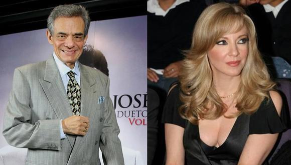 El famoso cantante y la talentosa actriz son dos de las figuras más importantes de México. (Foto: composición).