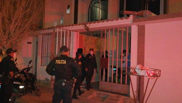 Piura: un total de 28 fueron intervenidas en el primer piso de una vivienda que funcionaba como prostíbulo clandestino. (Foto: PNP)