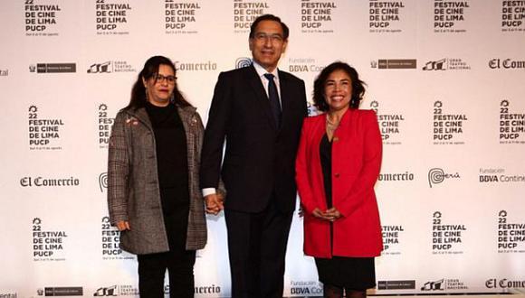 El presidente asistió a la inauguración del 22° Festival de Cine de Lima. (Foto: Andina)