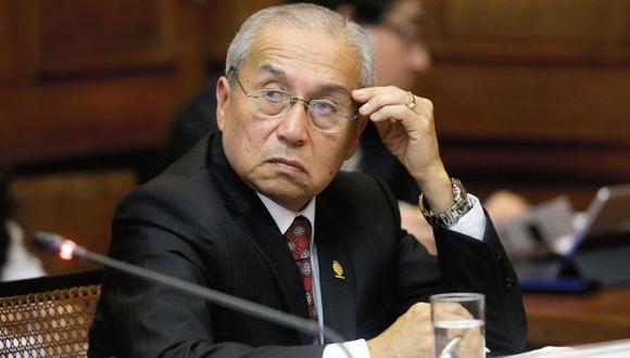 Pedro Chávarry fue ratificado como fiscal supremo por el CNM. (Foto: Alonso Chero/ El Comercio)