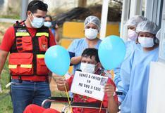 Madre de Dios: segundo jefe de compañía de bomberos fue dado de alta médica tras vencer al COVID-19 | VIDEO