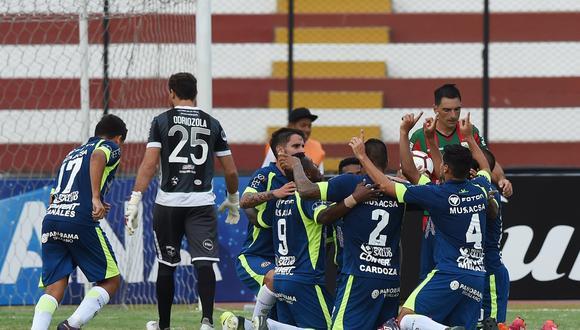 UTC se estrenó en la Copa Sudamericana 2018 con un buen triunfo frente al Rampla Juniors en el Callao. (Foto: AFP)