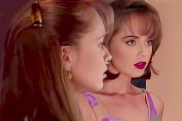 Para La usurpadora, Gaby Spanic asumió el desafío de caracterizar a dos personajes al mismo tiempo (Foto: La usurpadora / Televisa)