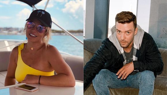 Justin Timberlake y Britney Spears vuelven a tener comunicación en redes sociales. (Foto: Instagram)