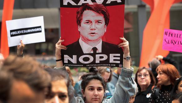 La idea de que es peligroso ser un hombre en la era del #MeToo despegó durante el debate sobre el nominado a la Corte Suprema de Estados Unidos, Brett Kavanaugh. (AFP)