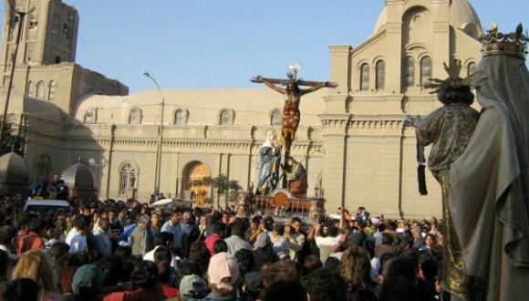 Ica: delincuentes causan pánico en procesión del Señor de Luren