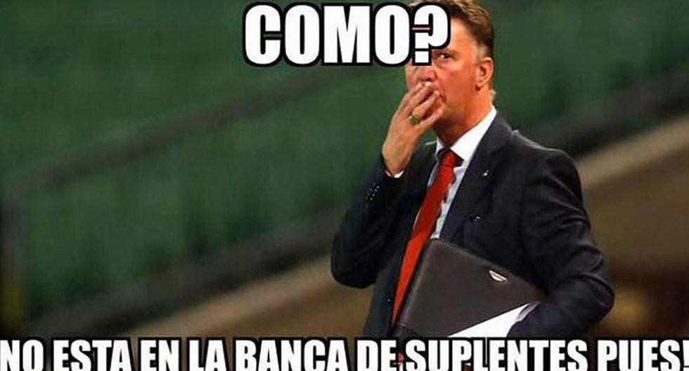 Van Gaal y los memes tras los dos goles de Falcao con Colombia - 3