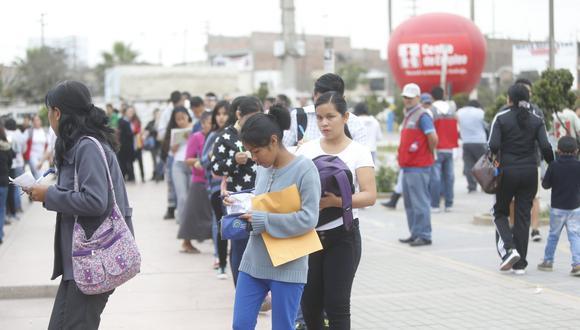 De un total estimado de 110 millones de jóvenes de 15 a 24 años, 56.3 millones no forman parte de la fuerza laboral, en su mayor parte porque estudian. (Foto: GEC)