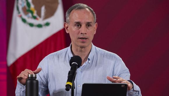 NOTICIAS CORONAVIRUS EN DIRECTO | El subsecretario de Prevención y Promoción de la Salud de México, Hugo López-Gatell, habla en una conferencia de prensa sobre la enfermedad causada por el nuevo coronavirus (COVID-19). (Xinhua)