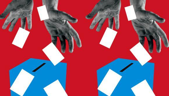 """""""Si el voto era el medio para producir la representación, ahora puede ser el medio para la propagación del COVID-19"""". (Ilustración: Giovanni Tazza)"""