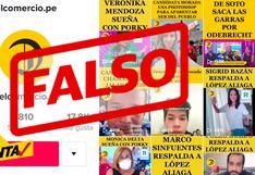 #DateCuenta: Crean cuenta falsa de El Comercio en TikTok para promocionar candidatura de Rafael López Aliaga