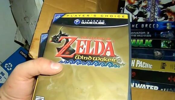 Dos youtubers encontraron un increíble tesoro de videojuegos dentro de una casa abandonada. (Foto: Captura YouTube)