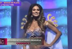 Miss Perú 2019: Revive parte del desfile en traje de baño VIDEO