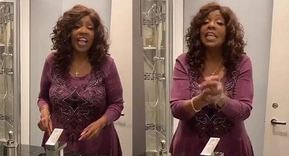 Gloria Gaynor grabó un video explicativo para que sus seguidores aprendan a lavarse las manos en 20 segundos. (Foto: Instagram)