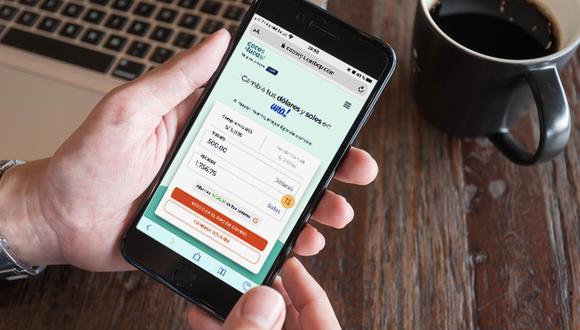 Plataformas y aplicativos te permiten comparar el tipo de cambio frente al informal y en la ventanilla de los bancos. (Foto: BCP)