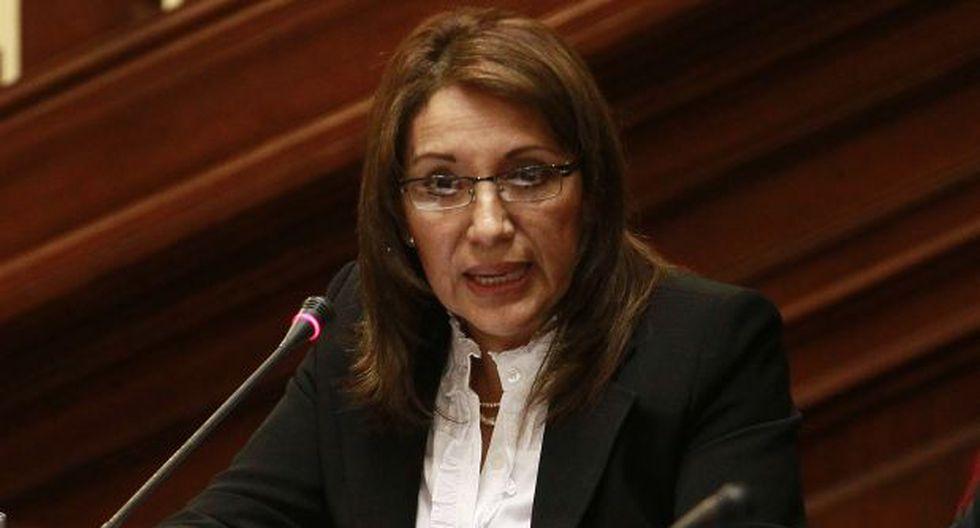 Procuradora Julia Príncipe negó pertenecer a trilogía del mal