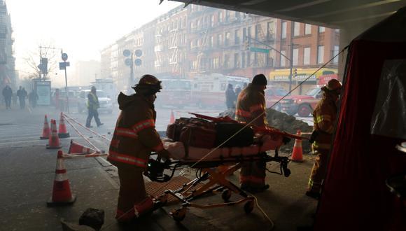 Explosión en Nueva York: cifra de muertos asciende al menos a 7
