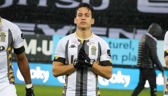 Cristian Benavente sufrió una lesión en el tobillo, anunció Sporting Charleroi. (Foto: Sporting Charleroi)