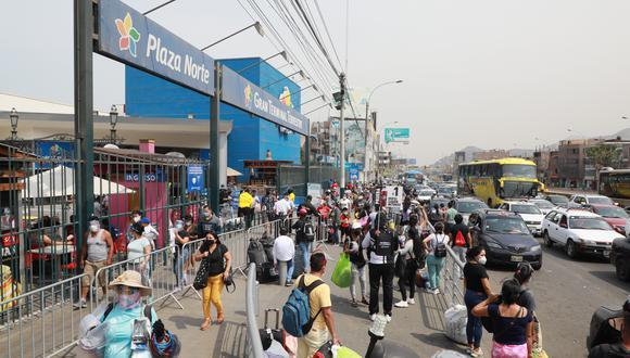 El Gobierno indicó que el transporte estaría restringido en Semana Santa. (Foto: Juan Ponce Valenzuela)