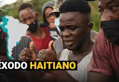 Éxodo haitiano: ¿A qué países buscan emigrar y cuál es su situación actual en Sudamérica?