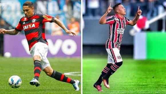 Flamengo empató 0-0 con Sao Paulo: Guerrero y Cueva jugaron