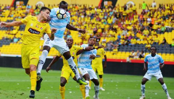 Guayaquil City sorprendió a Barcelona en su campo con un solitario gol de Alexis Domínguez | Foto: Ecuagol