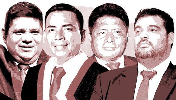 Empresas relacionadas a 15 congresistas registran deudas coactivas ante la Sunat. Algunos de ellos realizaron pagos tras ser consultados por el Diario El Comercio. (Composición: El Comercio)