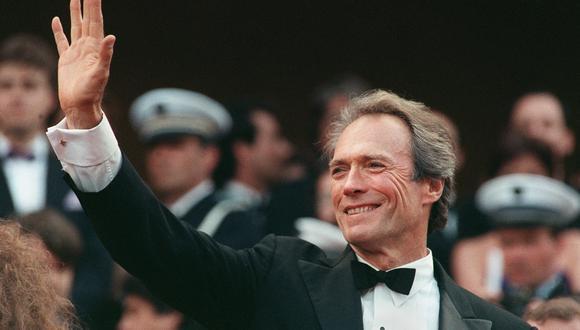El actor estadounidense Clint Eastwood, en el festival de Cannes de 1988. Ese fue el último año en el que ejerció como alcalde de la localidad de Carmel-by-the-Sea, en California. El cómo se volvió líder de ese pueblo es digno de una película. Foto: AFP.