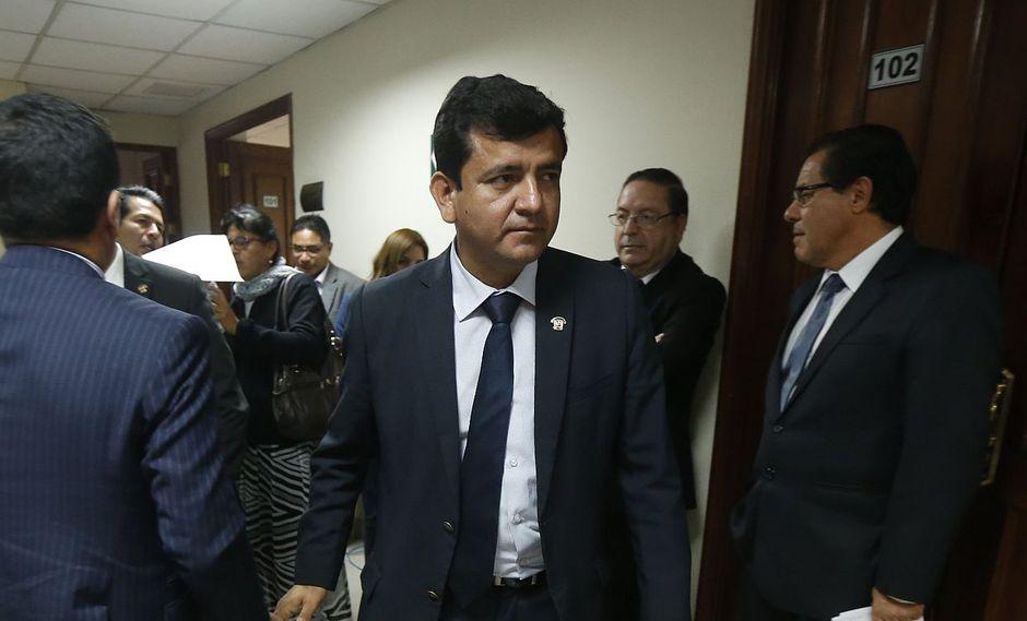 Luis López Vilela, de Fuerza Popular, reiteró que no tuvo la intención de agredir a Paloma Noceda y utilizó un video como parte de su defensa. (Foto: GEC)