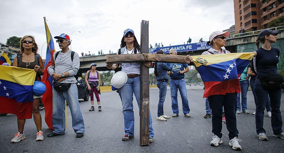 """Venezuela: El """"plantón"""" en protesta contra Nicolás Maduro - 9"""
