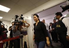 Keiko Fujimori y coinvestigados han recusado 14 veces a los jueces